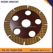 Good quality machinery parts clutch friction plate for excavator
