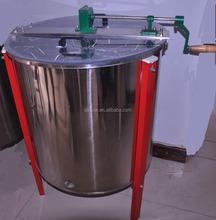 8 marcos de acero inoxidable manual de miel centrífuga para la apicultura