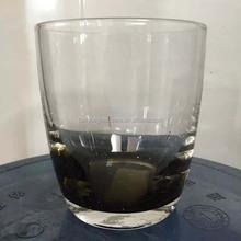 Smoked Glass Tumbler, Customer Design Glassware