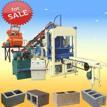 brick road machine solid block making machine price QT4-15C automatic brick machine price