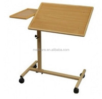 MTOB3 Movable patient dining table, hospital bed side table
