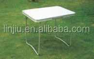 MDF & Alum. steel Folding Picnic table and Camping table