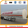 2015 China manufacture new 38 M3 3 axle oil tank trailer for sale in Africa