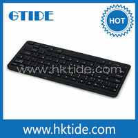 Amazing Ultra slim computer bluetooth keyboard for apple ipad