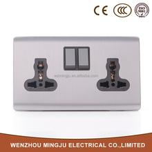 Multi Plug Double 3 pin socket