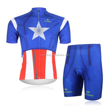 2015 New High Quality Hot Sublimation Short Sleeve Straps Cycling Wear