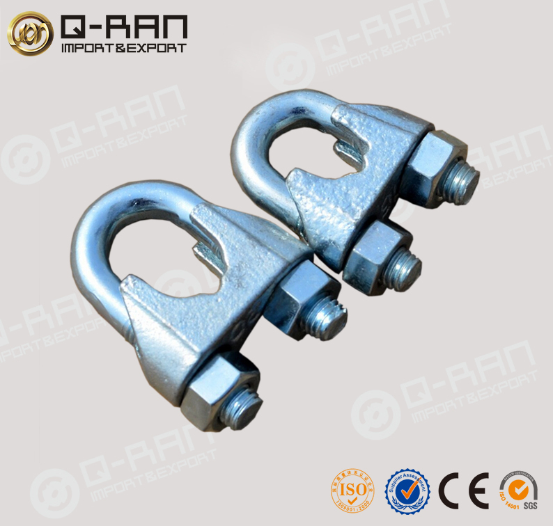 Galvanised China Hardware Din741 Wire Rope Clamps Rope Clip - Buy ...