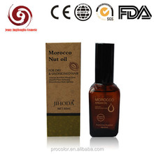 OEM ODM Wholesale hair care 100% pure organic argan oil in morocco 80ml