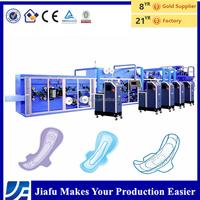 Fujian Quanzhou Frequency control semi automatic women sanitary pads making machine