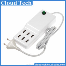 Discount ! Factory Direct Sale 6 multi port USB Charger