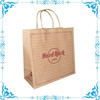 custom recycle brown paper bag supplier