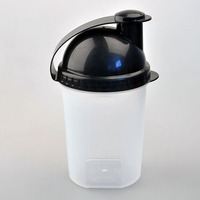 plastic shaker containers,lower price shaker bottle for drinking
