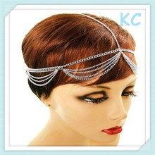new on sale Hair Chain gold & silver plated Princess Head Chain