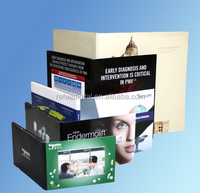 hd video card/sd card video recorder/lcd video brochure card