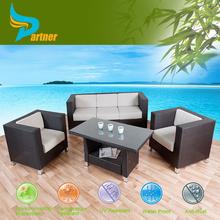 Kahverengi rattan kanepe 3+1+1 kişilik salon paketi sandalyeler sehpa veranda hasır dış mekan mobilya seti