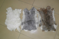 Factory direct supply Natural and Thick 100% Real Rabbit Skin
