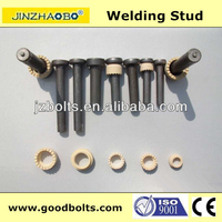 M19*105 Cheese head studs for arc stud welding with Ceramic Ferrule