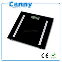 digital body fat analyser bmi calculator weighing scale with athlete mode 6mm glass top