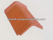 CLAY ROOFING RIDGES