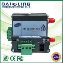 Wavecom 850/900/2100 MHz 3g modem SMS MMS VOICE DATA maestro 100 modem industrail usage serial port rs232/rs485 modem