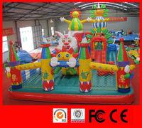 2015 hot sale playground high quality kids amusement inflatable kids plastic slide