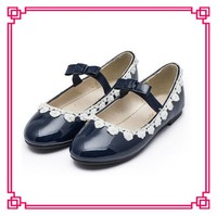 Guangzhou kids shoes factory wholesale name brand kids shoes new style flat girls' shoes