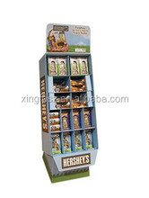 cardboard display shelf rack stand for retailers,Custom Printed POS Display Boxes