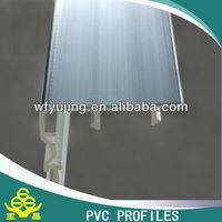 XINLI Brand UPVC profile/ UPVC extrusion profile 80 green inter lock
