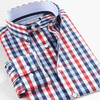 2015 New Popular Men's Long Sleeved Casual Plaid Shirt Men Checkered Dress Shirts, Slim Stylish Fashion