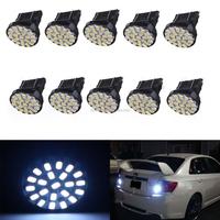 10Pcs 22-SMD Car 3157 LED Bulbs Brake Tail Stop Light 3057 3457 4157 3047 White