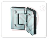Wholesale price Zinc alloy material hight quality 135 degree glass clamp for bathroom