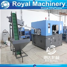 Injection blow molding machine for plastic container