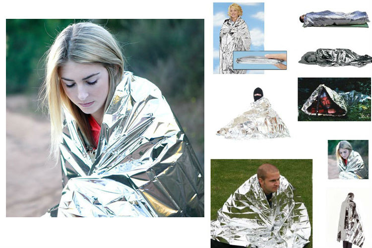 wholesale survival supplies first aid thermal blanket