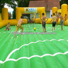 Football match area inflatable athletic games