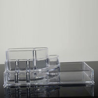 High quality clear acrylic retail cosmetic display stand store