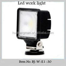 Hot sale off road work light 30W 12 volt led work light