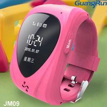 GPS+GSM 0.96 inch SOS GPS Tracker, smallest gps watch tracker-caref watch