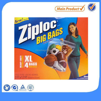 eco friendly zip lock bag large plastic zipper bags