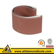 aluminio oxiede abrasivo de lijado cinturón
