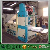 Automatic drawing type facial tissue paper folding making machine professional manufacture hot sale