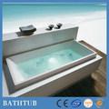 Banheira de hidromassagem banheira para projetos acrylicbuilt-in econômica