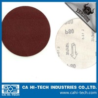 Stone and stainless steel polishing aluminum oxide sanding discs