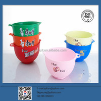 high quality plastic bowl with handle
