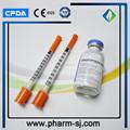 Agulha de insulina/insulina agulhas tamanhos/insulina calibre da agulha