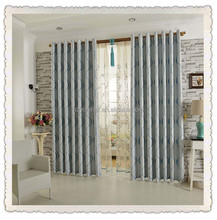 one side shiny one side dimout blackout fashion curtains for home