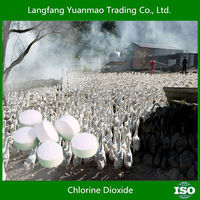 Chlorine Dioxide as Poultry Equipment Disinfect Antivirus Chemical for Livestock and Poultry