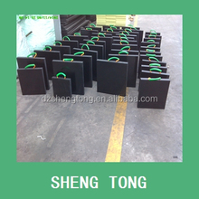 easy mobile uhmwpe plastic crane leg support, spreader plate for crane lifting