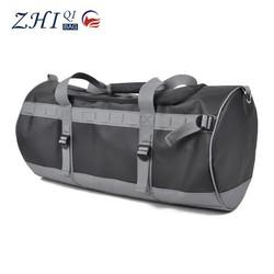 ZQ-B-027 Dongguan PVC network folde factory BSCI high quality fashionable duffle bag