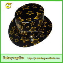High Quality cheap paper party hat, Customized Printed happy new year Paper Party Hat