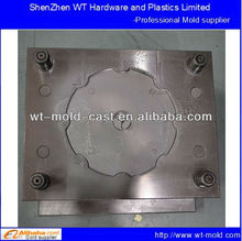 plastic injection molding heat hardened steel mold